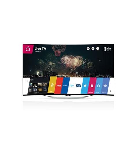 LG EC930T Curved 3D OLED Smart TV
