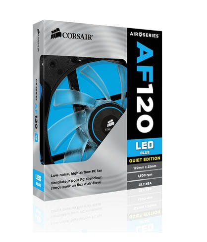 LED FANS 120MM BLUE