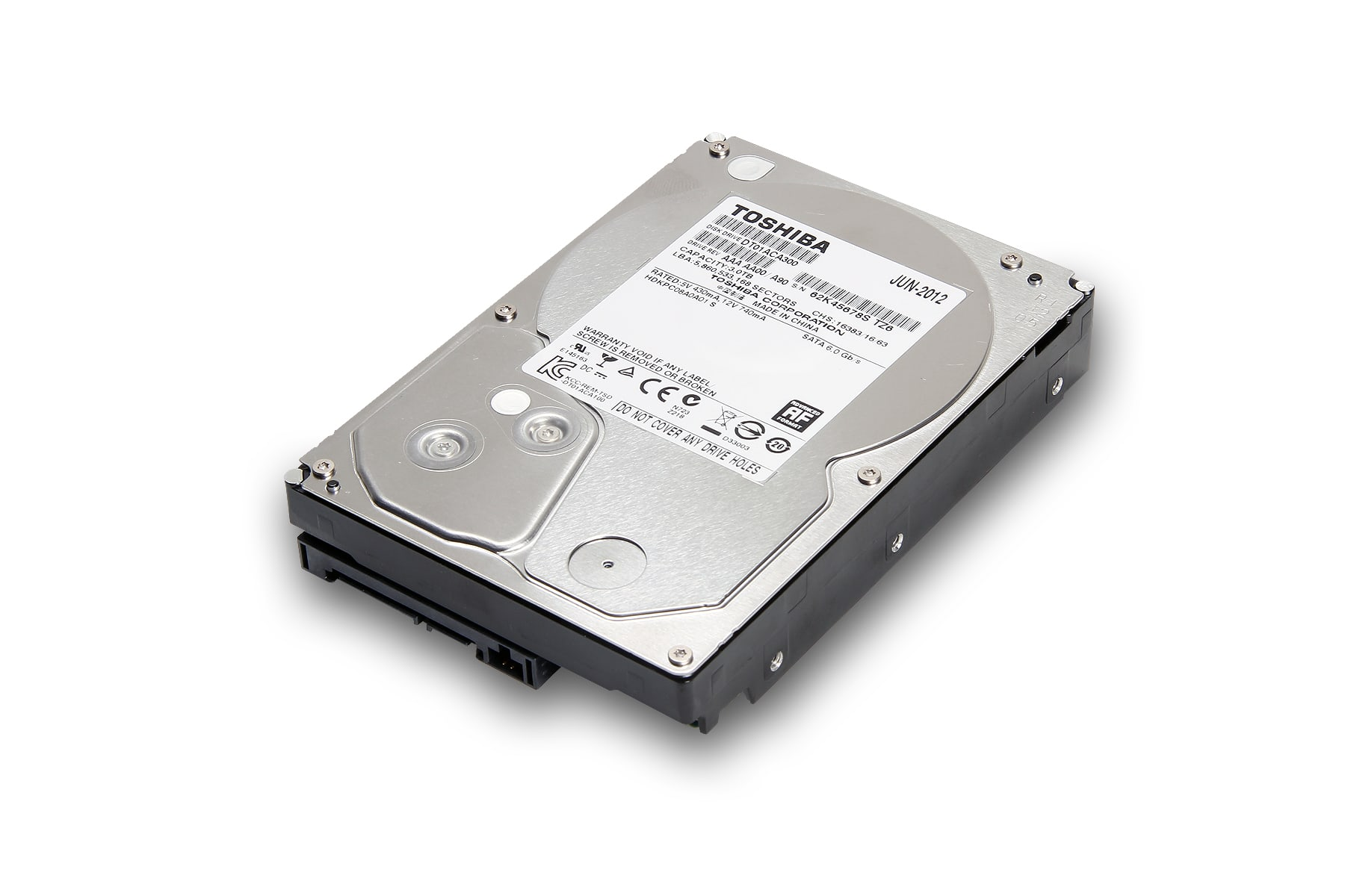 Toshiba Internal HDD DT01ACA200