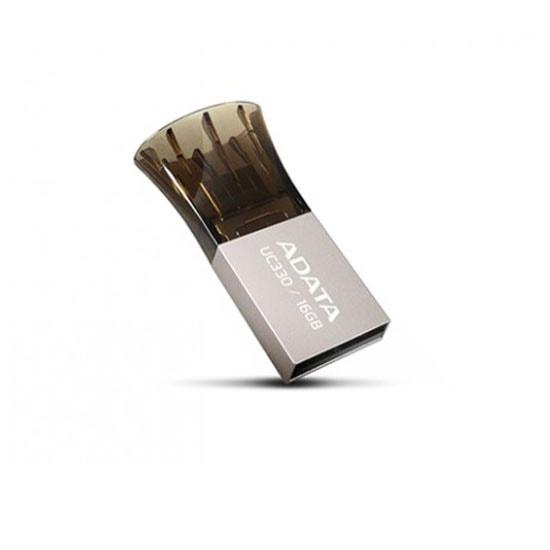 ADATA UC 330 OTG Black 16 GB