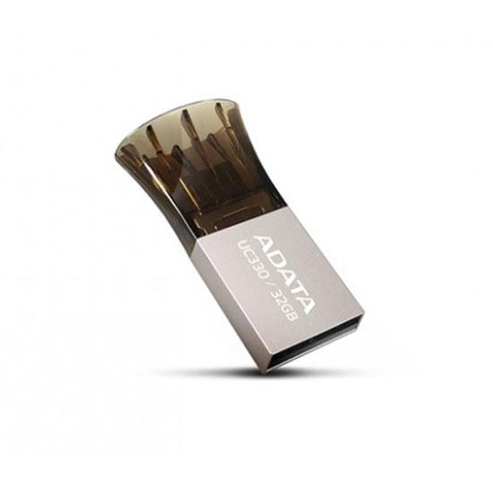 ADATA UC 330 OTG Black 32 GB