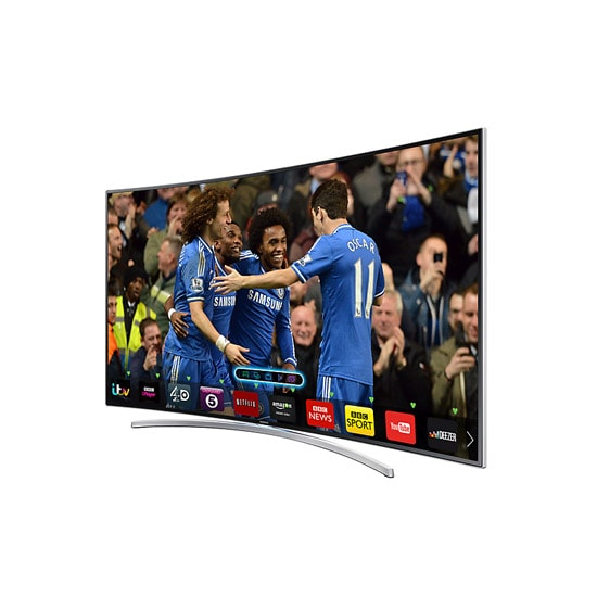 65 Inch Samsung H8000 Smart 3D Curved TV