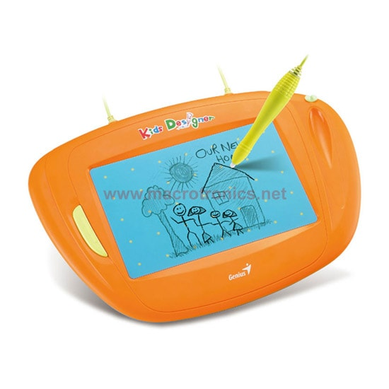 Genius 5x8 (Orange) Graphics Tablet
