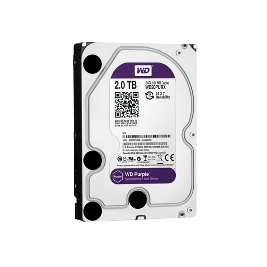 Western Digital WD20PURX-2TB Internal HDD