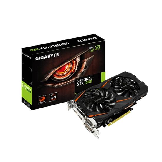 GIGABYTE GV-N1060 WF2OC-6GD Graphics Card